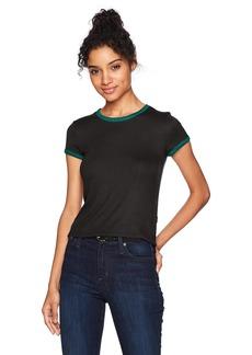 RVCA Women's Go Around Crew Neck Shirt  XL