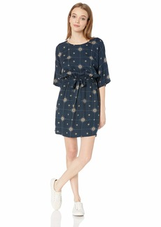 RVCA Women's Juvie Printed Dress