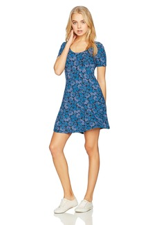 RVCA Women's Last Chance Scoop Neck Dress  S
