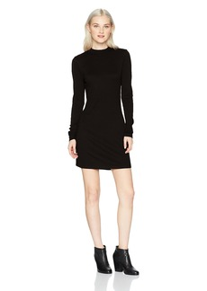 RVCA Women's Latte Long Sleeve Body Con Dress  L