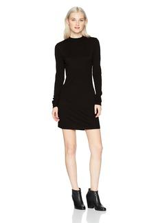RVCA Women's Latte Long Sleeve Body Con Dress  M