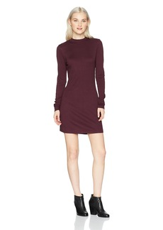 RVCA Women's Latte Long Sleeve Body Con Dress  M