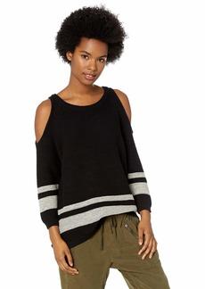 RVCA Women's Marked Cutout Knit Sweater