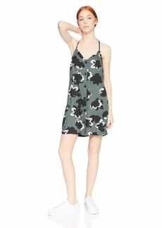 RVCA Women's Mygo Button Cami Dress
