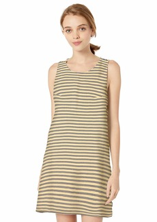 RVCA Women's ON The Fence Shift Dress off off white XS