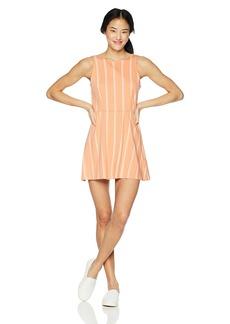 RVCA Women's Peony Striped Dress