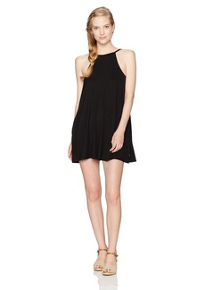 RVCA Women's Pipe Dream High Neck Dress  M