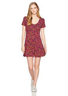 RVCA Women's Scoop Neck Dress  S