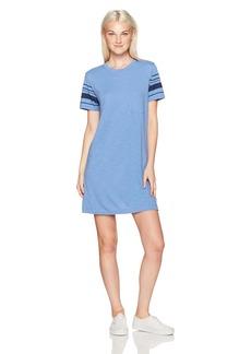 RVCA Women's Short Stop T-Shirt Dress ace Blue XL