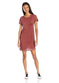 RVCA Junior's SO Chill Straight Fit T-Shirt Dress