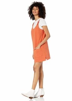 RVCA Womens Teach That Sleeveless Dress amber M