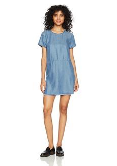 RVCA Women's Tinseltown Short Sleeve Dress  XS
