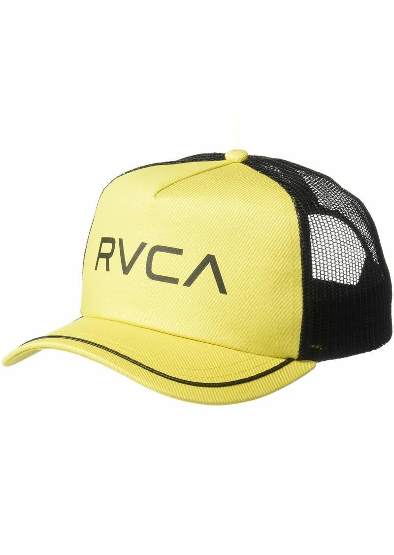 RVCA Women's Title MESH Back Trucker HAT