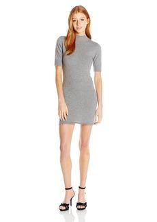 RVCA Junior's Ziggy Mock Neck Sweater Dress