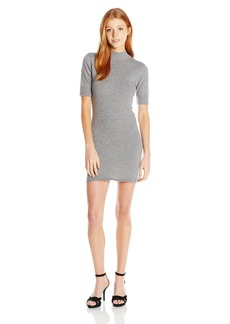 RVCA Junior's Ziggy Mock Neck Sweater Dress