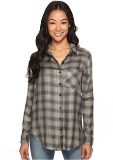 RVCA York Plaid Button-Up Shirt