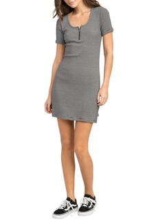 RVCA Zip It Striped Dress
