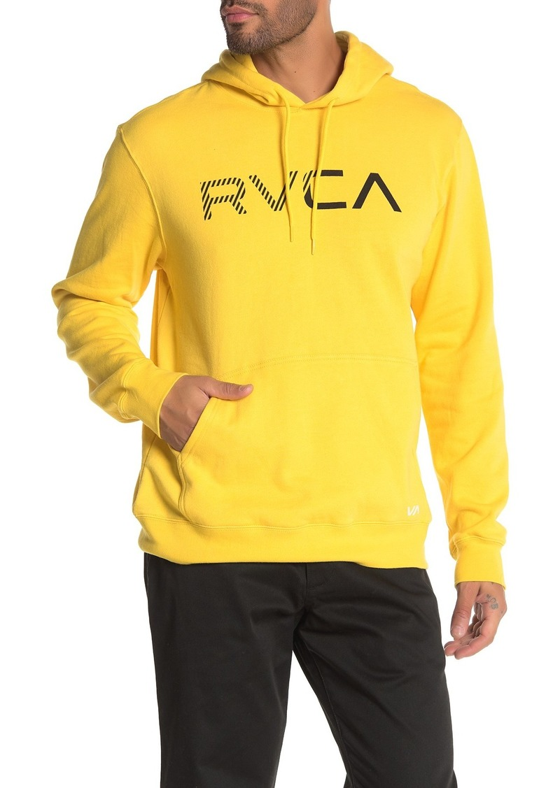 Scratched RVCA Hoodie