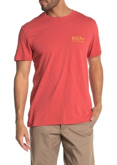 RVCA Squig Crew Neck T-Shirt