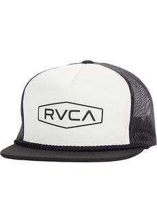 RVCA Staple Foamy Trucker