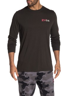 RVCA Teared Long Sleeve T-Shirt