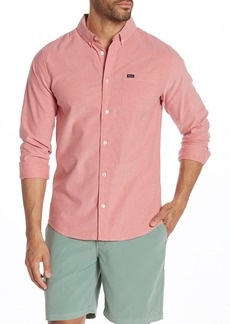 RVCA That'll Do Solid Slim Fit Shirt