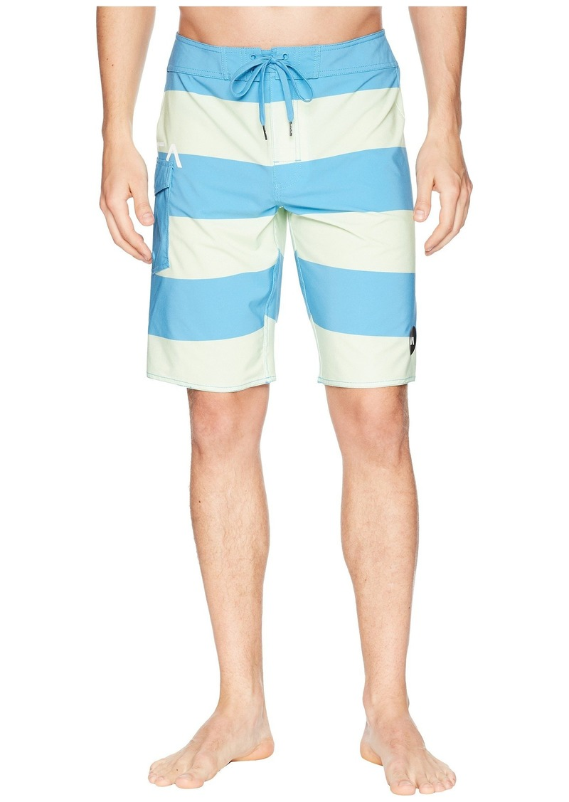 87fa38e79c RVCA Uncivil Stripe Trunk | Swimwear