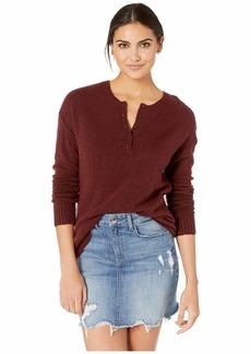 RVCA Urboyfriends Knit Henley Sweater