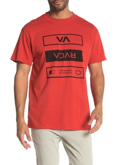 RVCA VA Build Crew Neck T-Shirt