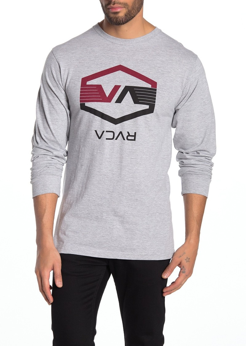 RVCA VA Hex Wings Long Sleeve T-Shirt