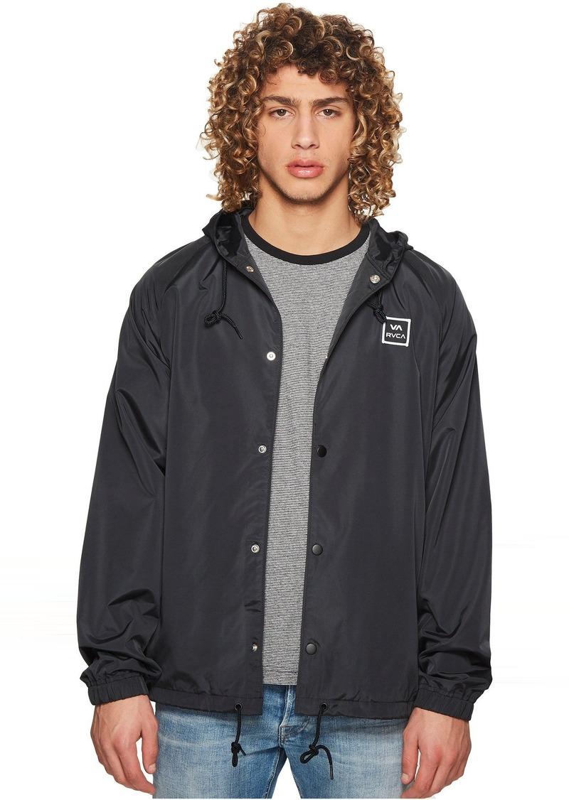 Rvca Va Hood Coach Jacket Outerwear