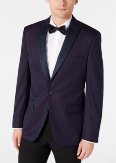 Ryan Seacrest Distinction Men's Modern-Fit Burgundy Paisley Jacquard Dinner Jacket, Created for Macy's