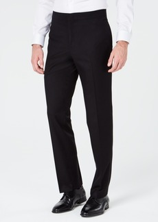 Ryan Seacrest Distinction Men's Slim-Fit Stretch Black Tuxedo Suit Pants, Created for Macy's