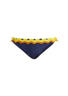 Rye Oh My scallop-edged bikini briefs