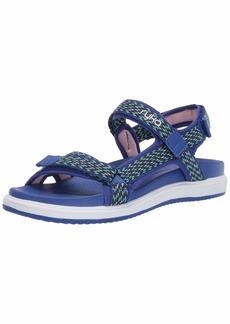 Ryka Women's Lapis Sandal surf Blue 6 W US
