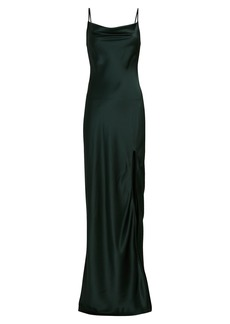 Sablyn Chase Silk Maxi Slip Dress