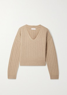 Sablyn Maia Ribbed Cashmere Sweater