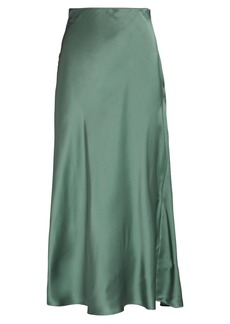 Sablyn Miranda Silk Midi Skirt