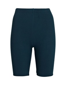 Sablyn Rowen Rib Knit Biker Shorts