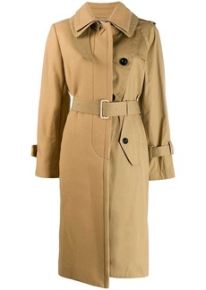 Sacai belted trench coat