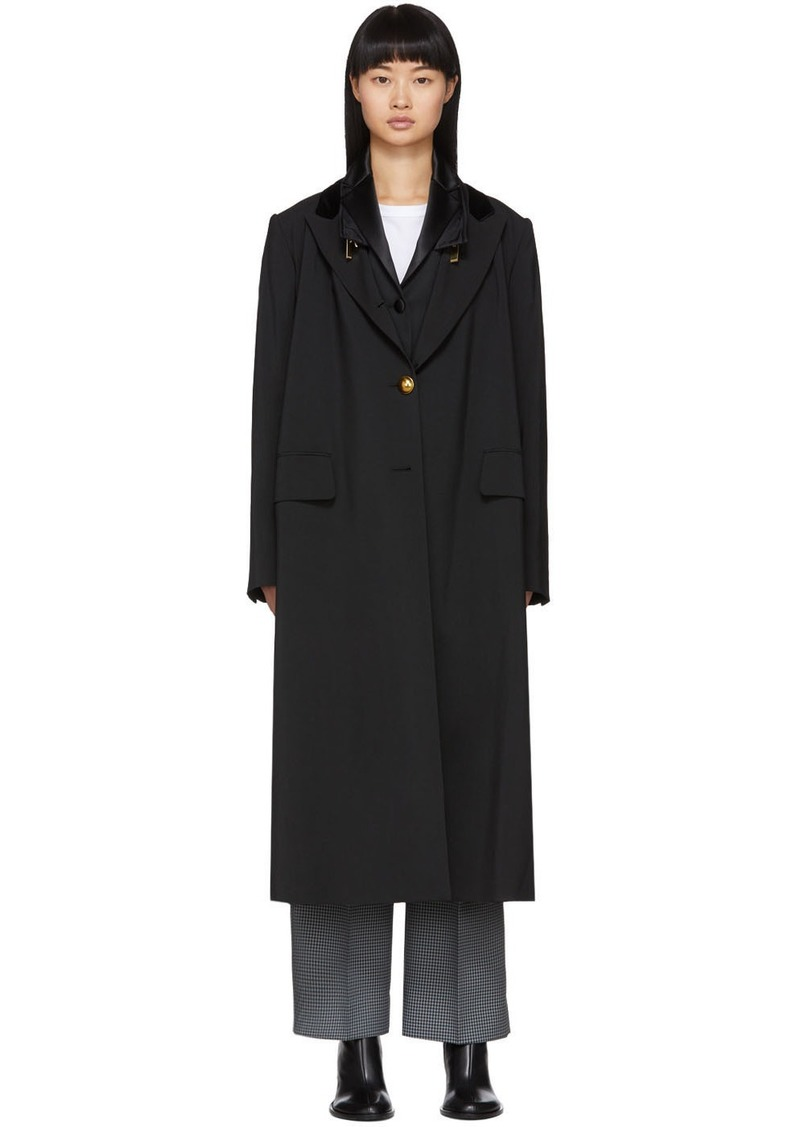 Sacai Black Suiting Coat