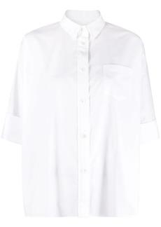 Sacai button-down poplin shirt