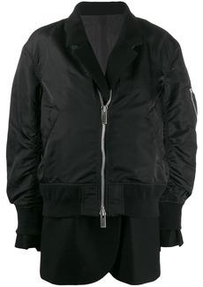 Sacai double layer bomber jacket
