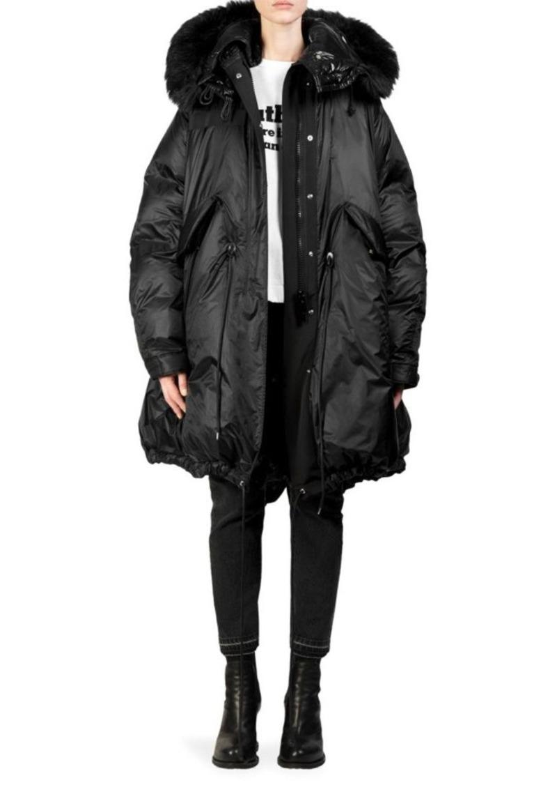 b2a5b07c6 Down Faux Fur-Trimmed Puffer Coat