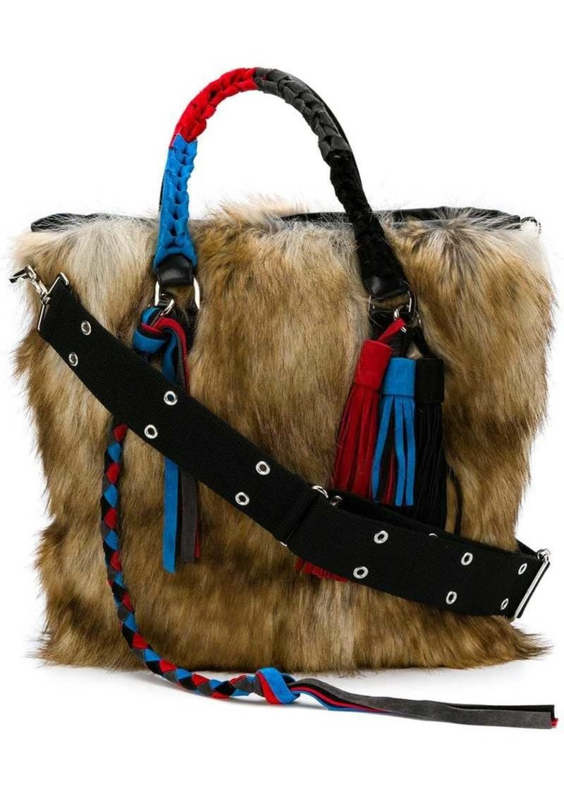 91a9da9b0f Sacai fluffy wide tote bag