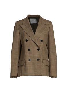 Sacai Glencheck Mix Jacket