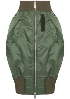 Sacai high-rise balloon skirt
