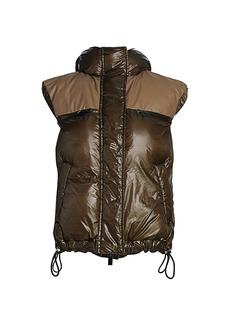 Sacai Hooded Padded Vest