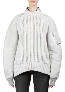 Sacai Knit Bomber Pullover
