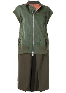 Sacai sleeveless bomber jacket